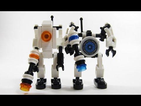 LEGO Portal 2 Atlas And P Body Moc