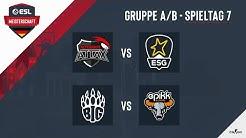 ATN vs. ESG & BIG vs. epikk - ESL Meisterschaft 2020 - Season 1 - Spieltag 6.3