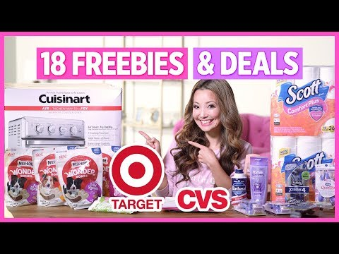 ★ 18 FREEBIES & Deals: Target, CVS Couponing Haul (Week 5/26-6/1)