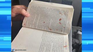 Passenger Popped Bloody Blister on Plane?