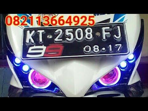 Sumber Cahaya LED Samarinda custom modifikasi  angel eye jupiter mx KING