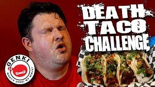 THE DEATH TACO CHALLENGE │ Genkiyaki - Riverside, CA