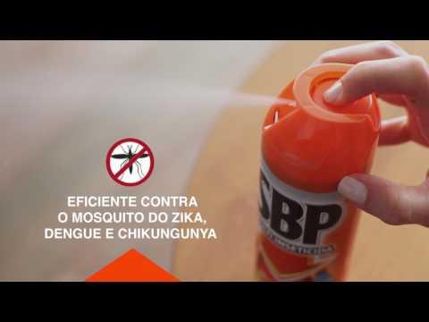 SBP - Como usar o Aerossol