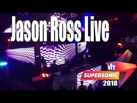 Jason Ross - Live Vh1 Supersonic 2018 Day 3 Pune India(Exclusive)