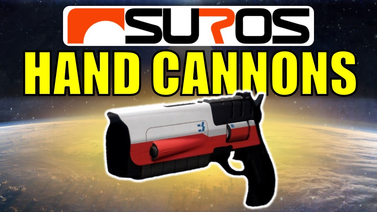 Destiny Hand Cannons Concept Art