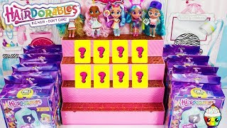 HAIRDORABLES Lots of Hairdorables Unboxing Cupcake Kids Club