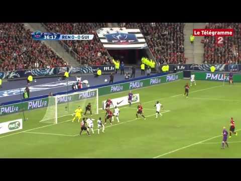 Finale de la Coupe de France. Rennes-Guingamp (0-2) - Les deux buts