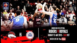 2019 benecos BBL Play-Off Final - Leicester Riders v London City Royals