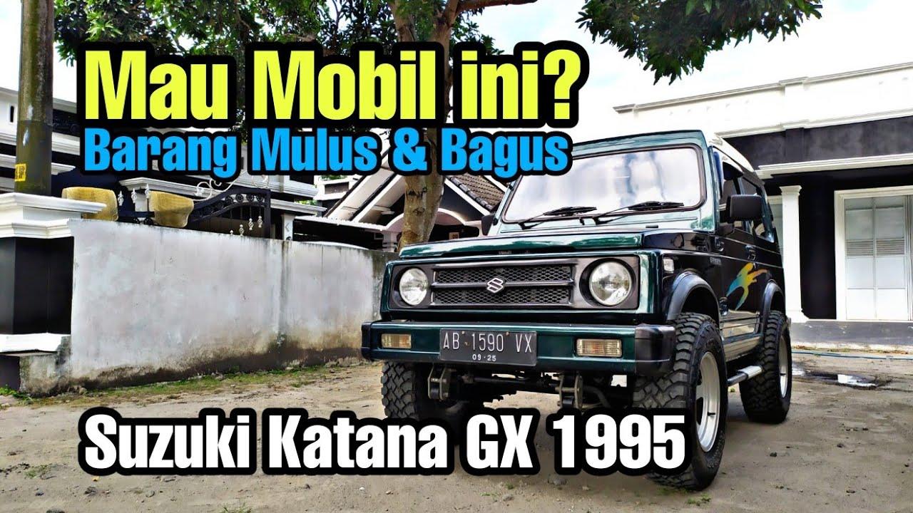 Download Dijual Suzuki katana GX 1995 Barang Mulus