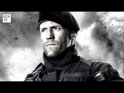 The Expendables 2 Statham Stallone & Schwarzenegger Interview - Training Tips