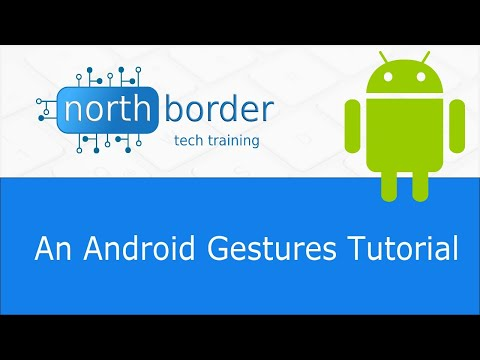An Android Gestures Tutorial