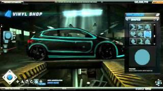 NFS World Tron Car by HOT_PEPPER