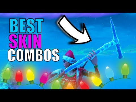 BEST SKIN COMBOS WITH THE *ICICLE* PICKAXE | Fortnite Season 7