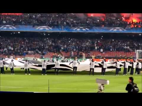 San Paolo de Napoli - Un giorno all'improvviso en Champions League