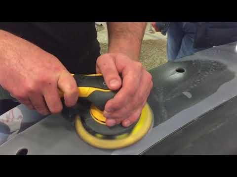 Шлифовка пластика без поднятия ворса по технологии MIRKA