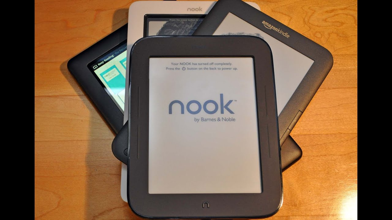 New Barnes Noble Nook Simple Touch Review Nook vs Kindle