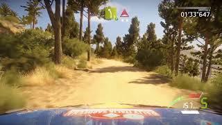 WRC 7 - Rally Italy (Sardegna) - Ford Fiesta WRC - Seb Ogier - Gameplay