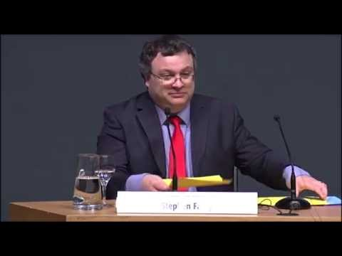 FPeuskadi 2015: Stephen Farry, Minister of Employment and Learning, Northern Ireland EN