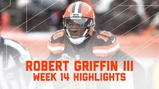 RGIII's First Start Since Week 1! | NFL Week 14 Player Highlights