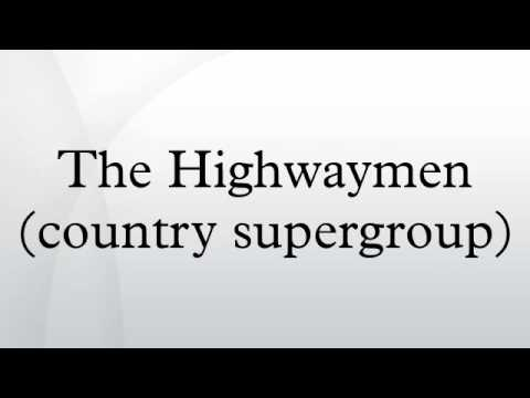 the highwaymen country supergroup