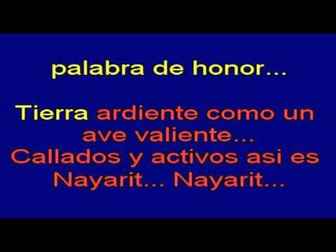 Corridos-banda La Costeña - El Corrido De Nayarit Karaoke
