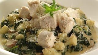 Creamy Chicken Dijon 268 Calories, 9g Fat, 18g Carbs, 38g Protein