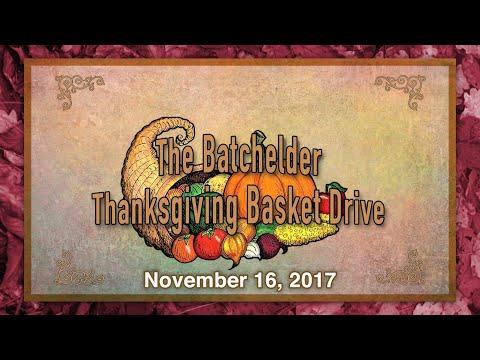 The Batchelder School Thanksgiving Drive - 11/16/2017