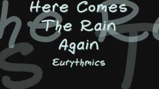Here Comes The Rain Again Eurythmics