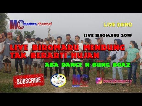 LIVE BIROMARU MENDUNG TAK BERARTI HUJAN - ABA DANCE DAN BUNG BOAZ LIVE 18-0419)