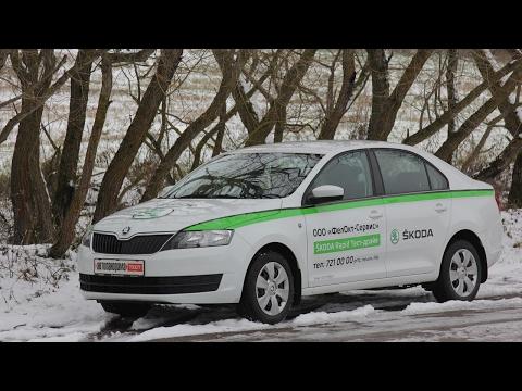 Renault LOGAN, Hyundai ACCENT, Lada VESTA, Skoda RAPID большой тест Автопанорамы