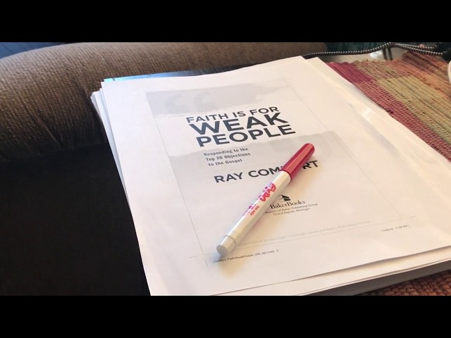 Exclusive look into Ray's newest book!