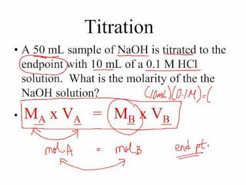 AP Chem Titration Calculations - YouTube