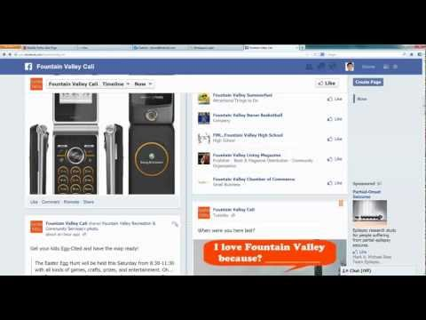 How To Post A Classified Ad With Photo On Facebook Fan Page