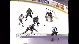 February 4 1996 Stars at Islanders highlights