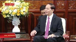 Chủ tịch Trần Đại Quang xuất hiện trở lại