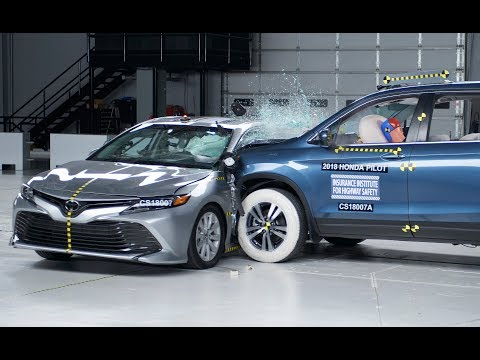 Toyota Camry – New Tougher Side Impact Crash Test By IIHS