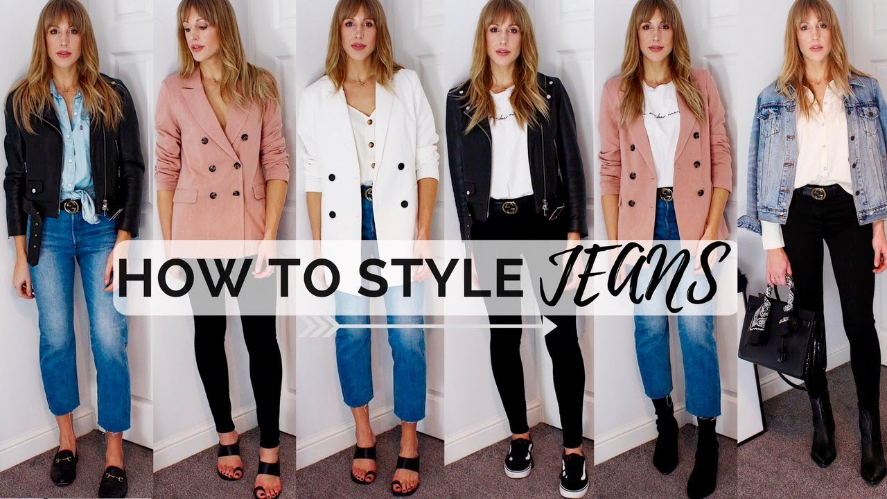 6 WAYS TO WEAR JEANS THIS SPRING/SUMMER - OUTFIT IDEAS | How To Style Denim 4