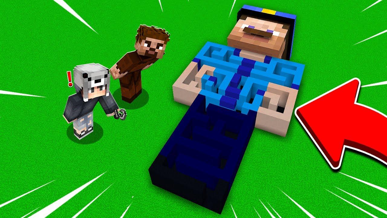 POLİS LABİRENTİNDE SAKLAMBAÇ! 😱 - Minecraft