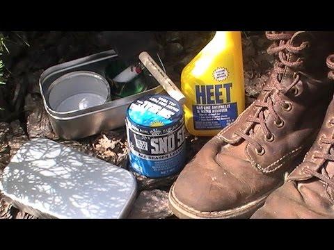 Applying Sno Seal Waterproofing ( Fast and Effective Method )