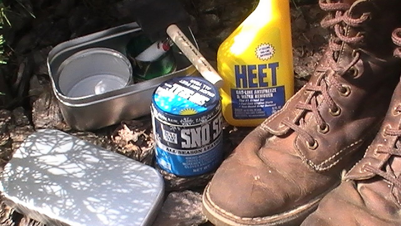 9f71194fb991 Applying Sno Seal Waterproofing ( Fast and Effective Method ) - YouTube