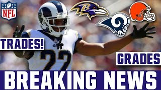 Marcus Peters Trade Grades - Rams Trade Marcus Peters To the Ravens