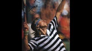 BJORN BORG vs HREBEC DAVIS CUP 1975