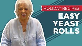 Holiday Recipes: Easy Yeast Rolls Recipe