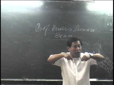 Lto Exam 1 Professional License