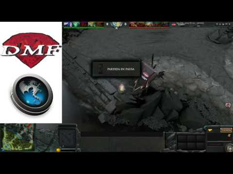 TORNEO CYBER MERCADER DOTA 2 DIAMOND MURDE FOUNTAIN VS CYBER DVD HOLLYWOOD