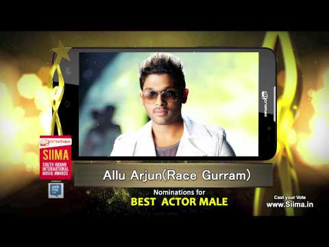 Micromax Siima 2015 | Nominations for Best Actor | Allu Arjun