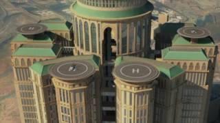 مشروع أكبر فندق في العالم في مكة