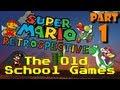 Super Mario Retrospective - Part 1 - The Old School Games!