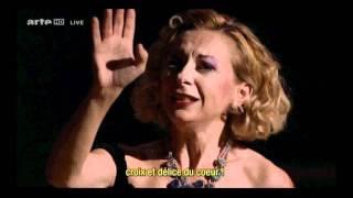 Natalie Dessay Traviata  È strano...Ah! fors'è lui...Sempre libera (Aix 2011)(La Traviata Melodrama en tres actes Libretto di Francesco Maria Piave Música di Giuseppe Verdi Acte 1er: È strano,..!è strano....!Ah, fors'è lui che l'anima., 2011-07-24T17:24:43.000Z)
