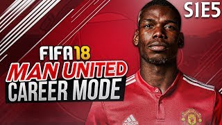SACKED IN THE MORNING! | FIFA 18: Manchester United Career Mode - S1 E5